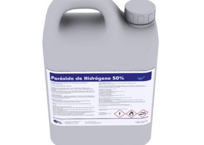 Peróxido de hidrógeno 50%