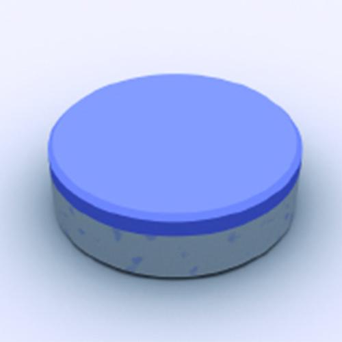 Tableta bicapa dos fases
