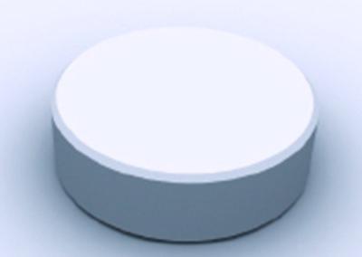 Tablette à dissolution lente